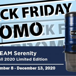 Beam Black Friday Sale BEAM vacuums
